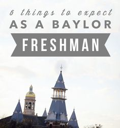 "6 Things to Expect as a Freshman // ""There are many things to look forward to as you begin the next chapter of your life as a college student. You are ready to take on the world and meet new people, get good grades, and live a life like you see on Tumblr and Pinterest. However, there are a few things to keep in mind as you hurdle through summer getting ready to move in."""