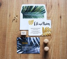 Wedding invitations by PopsDesign on Behance