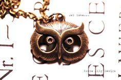 Cute wise owl