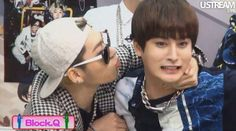 Pretty much sums up Jaehyo's relationship with Block B. Jaehyo Block B, B Bomb, Falling In Love, Yup, Bands, Relationship, My Favorite Things, Pretty, Band