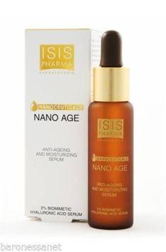 Isis Pharma Nano Age Anti Aging Treatment Serum Whit Hyaluronic Acid 28ml Beauty Product http://www.allbeautysecret.com/isis-pharma-nano-age-anti-aging-treatment-serum-whit-hyaluronic-acid-28ml-beauty-product/