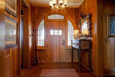 Foyer, Guest House, Sagee Manor (Highlands, North Carolina).