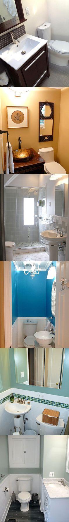 Design ideas - small bathroom spaces