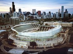 Soldier Field and Chicago - HOME OF THE BEARS