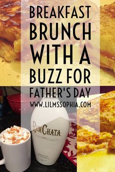 Breakfast Brunch With A Buzz for Father's Day! - LilMsSophia Designs