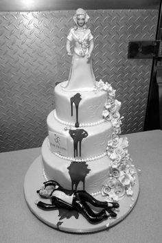 LMAO Divorce Cake