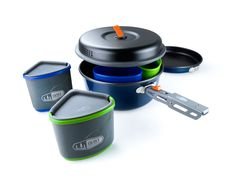 Superior Backcountry Cookware Since 1985 Camping Cookset GSI Outdoors Gourmet Kitchen Set 11
