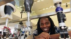 26 year old MIT student working on 'perfect fit' bionic limbs based on 3D pics of the person'e body!
