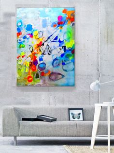 Original abstract acrylic painting, Large wall art canvas, Modern Art Abstract Painting, Acrylic painting on Canvas, Original art work door GabiGerArt op Etsy https://www.etsy.com/nl/listing/228034414/original-abstract-acrylic-painting-large