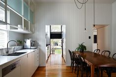 A renovated queenslander, maintaining its original character // West End Cottage Renovation: A Photo Essay