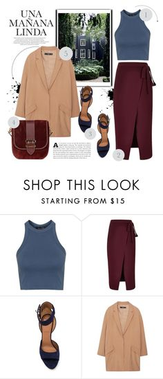 """Another day."" by vigilexi ❤ liked on Polyvore featuring Topshop, River Island, Givenchy, Viktor & Rolf, MANGO and Burberry"