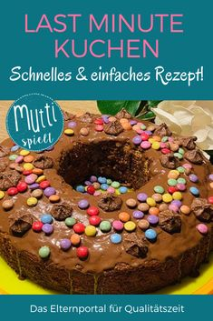 kindergeburtstag Last minute cake - the quick & easy recipe for baking with children! Berry Cake, Baking With Kids, Peanut Butter Cups, Mole, Quick Easy Meals, Baking Recipes, Last Minute, Berries, Food And Drink