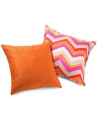 Outdoor pillows are an easy way to add color and make a space more inviting. $24.99 compare at $50