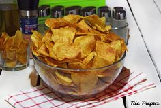 Chipsy ziemniaczane – przepis Snack Recipes, Snacks, Food To Make, Chips, Cooking, Snack Mix Recipes, Kitchen, Appetizer Recipes, Appetizers