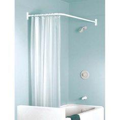 L Shaped Shower Curtain Rod Argos (495×