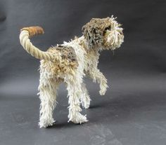 Dollhouse Miniatures | Dominic Gubb Rope Dog