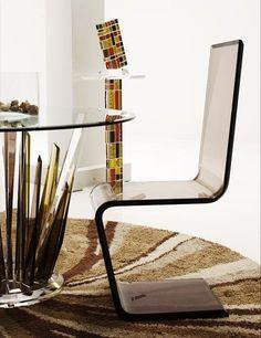contemporary chair (plexiglas®) INVISIBLE Haziza