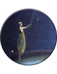 Gaelle Boissonnard Gift of Life 2013 Wall Calendar Art And Illustration, Art Fantaisiste, Art Carte, Kunst Online, Inspiration Art, Art Moderne, Whimsical Art, Beautiful Paintings, Figure Painting