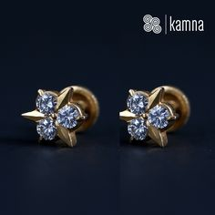 Evergreen studs by Kamna Designs #youdecidewedesign #customiseyourjewellery #kamnadesigns visit:http://www.kamnadesigns.com/