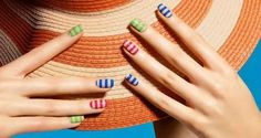 10 Beautiful, Beachy Manicures You Can Do at Home (PHOTOS)