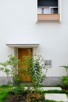 若原アトリエ 清瀬の小住宅 玄関
