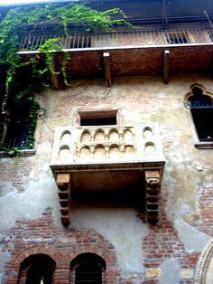 Balcón de Julieta - VERONA
