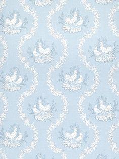 DecoratorsBest - Detail1 - Stroheim 6041104 - 2680E DURAND II - S0510 Blue - Wallpaper - DecoratorsBest