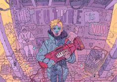 The Future is Now – Les jolies illustrations dystopiques de Josan Gonzalez | Ufunk.net