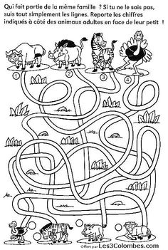 Nice Coloriage Jeux Gratuit A Imprimer that you must know, Youre in good company if you?re looking for Coloriage Jeux Gratuit A Imprimer Activities For 6 Year Olds, Fine Motor Activities For Kids, Printable Activities For Kids, Preschool Learning Activities, Preschool Education, Free Preschool, Preschool Printables, Kids Learning, Visual Perceptual Activities
