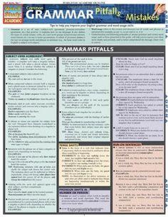 Common Grammar Pitfalls & Mistakes (Quickstudy: Academic)
