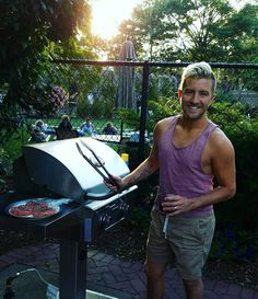 """1,004 Likes, 20 Comments - Billy Gilman (@billygilmanofficial) on Instagram: """"Grillin' makes Monday's suck less. Lolol"""""""