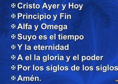 α JESUS NUESTRO SALVADOR Ω: Cristo, principio, centro y fin de la creación: Co...