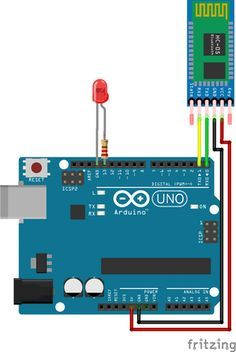 Education: Arduino Bluetooth Basic Tutorial via Hackster.io Getting your Arduino to talk to you is always a great idea — whether you want . Arduino Bluetooth, Arduino Led, Bluetooth Gadgets, Arduino Programming, Arduino Board, Arduino Sensors, Tech Gadgets, Diy Electronics, Electronics Projects
