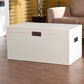 Found it at Wayfair - Kaedon Trunk Coffee Table with Lift-Top