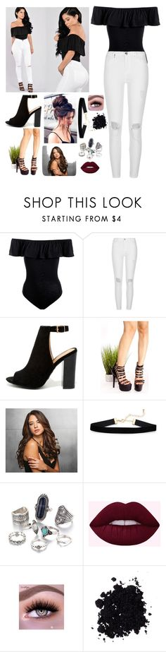 """""""Untitled #108"""" by loved9999 ❤ liked on Polyvore featuring Sans Souci, River Island, Bamboo and Ken Paves"""