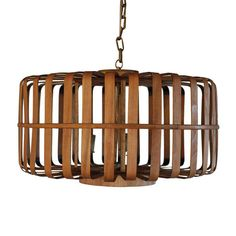 Sure, we love glitzy chandeliers, but the earthy feel and natural bamboo of this ceiling pendant makes it a strong competitor. Plus, the soft beams of light and shadow it creates are sure to help you s...  Find the Bamboo Chandelier, as seen in the Venice Beach Bungalow Collection at http://dotandbo.com/collections/venice-beach-bungalow?utm_source=pinterest&utm_medium=organic&db_sku=CCO0284