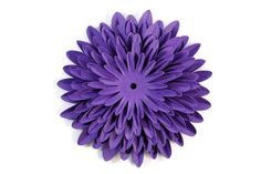 The Best Paper Dahlia Craft Tutorial Ever!: How to Make a Paper Dahlia: Step 2 Fold and Stack the Flower Parts