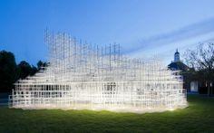 Serpentine Gallery Pavilion by Sou Fujimoto (2013)