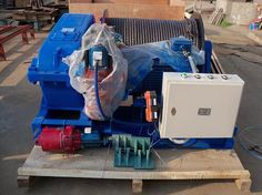 8 Sets Electric Winch 15 Ton Delivery To Tanzania​-nucleon crane group Electric Winch, Tanzania, Crane, Delivery, Group