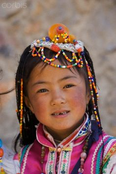 zang minority people, Shangri-La, formerly Zhongdian, Shangri-La region, Yunnan Province, China, Asia.