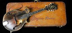 The late Bill Monroe's 1923 Gibson F5 Lloyd Loar Mandolin