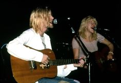 """...we play guitar together. There won't be a 'Kurt and Courtney' album, like John and Yoko..."" -Kurt Cobain"