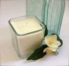 DIY Soy Candles :making pink blog This one is French Pear!
