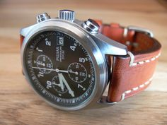 Pulsar PJN299X1, civilian issue of the RAF pilot watch. $100