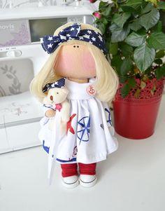 Tilda doll Handmade doll Love doll Art doll by AnnKirillartPlace