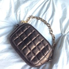 HP%auth BCBG MAX AZRIA Copper purse This is such a cute evening and going out purse. Holds phone and essentials while making a sassy statement! In excellent condition, no rips, tears or stains on the leather. Normal wear on the metal.  ⛔️NO TRADES OR PAYPAL⛔️  NO LOWBALL OFFERS✨Willing to bundle so ask, ALL OFFERS DONE USING THE BUTTON ✨REMEMBER POSH TAKES 20%⚠️Ask all questions as sales are FINAL⚠️ BCBGMaxAzria Bags
