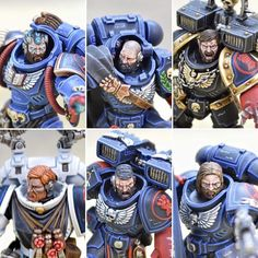 Discover recipes, home ideas, style inspiration and other ideas to try. Tau Warhammer, Warhammer Figures, Warhammer Paint, Warhammer Models, Warhammer 40k Miniatures, Warhammer Fantasy, Warhammer 40k Blood Angels, Silly Games, Imperial Fist
