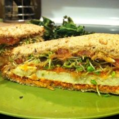 Buffalo Tofu Sandwich – Plant Based on a Budget