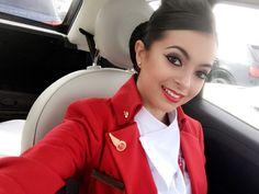 【イギリス】ヴァージン・アトランティック航空 客室乗務員 / Virgin Atlantic Airways cabin crew【UK】 Grace Perry, Virgin Atlantic, Cabin Crew, New Trends, Photo And Video, Europe, Beautiful, News, Instagram