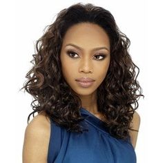 Synthetic Hair Half Wig OUTRE Quick Weave Halle Color S1B33 * Continue to the product at the image link.(This is an Amazon affiliate link and I receive a commission for the sales)